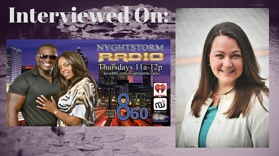 Interview, Nyghtstorm Radio, Atlanta