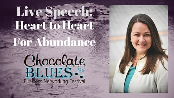 Grace, Heart Connection, Abundance, Triffany Hammond, Chocolate Blues Networking Festival,