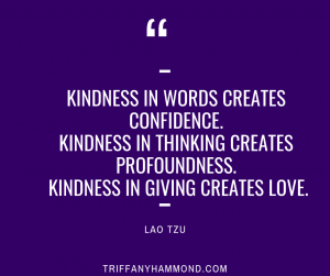 Lao Tzu Quote on Kindness as a path toward Love